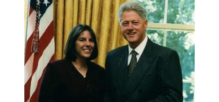 Prof. Judy Walker with  President Clinton
