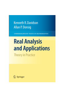 Allan Donsig: Real Analysis and Applications