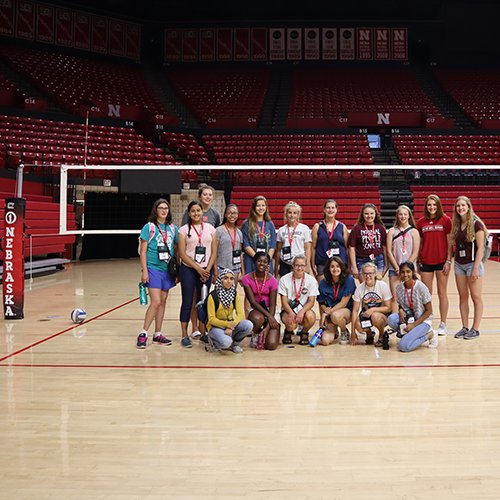 AGAM group photo at Devaney Sports Center