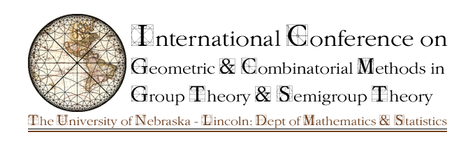 International conference on geometric and combinatorial methods in group theory and semigroup theory.